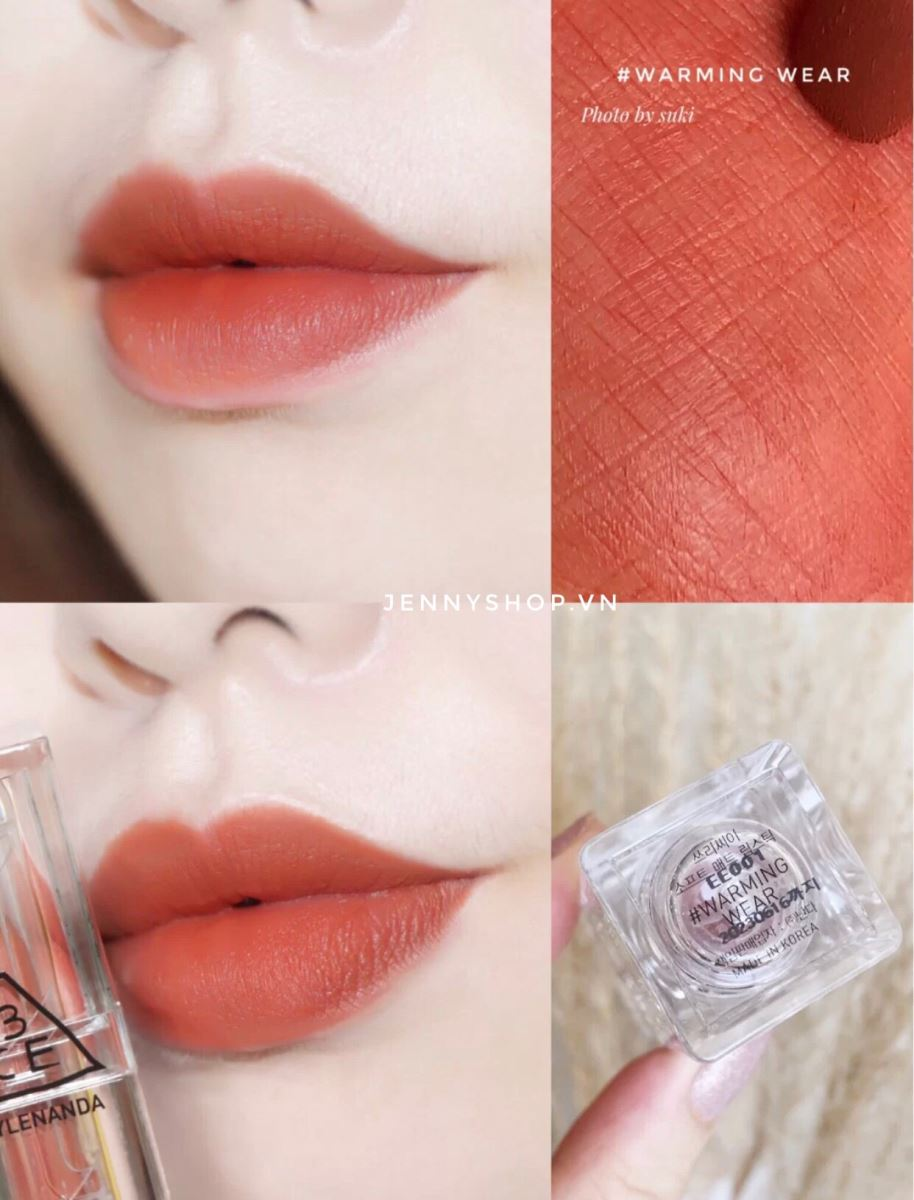 Son Thỏi Lì 3CE Soft Matte Lipstick Clear Layer Edition