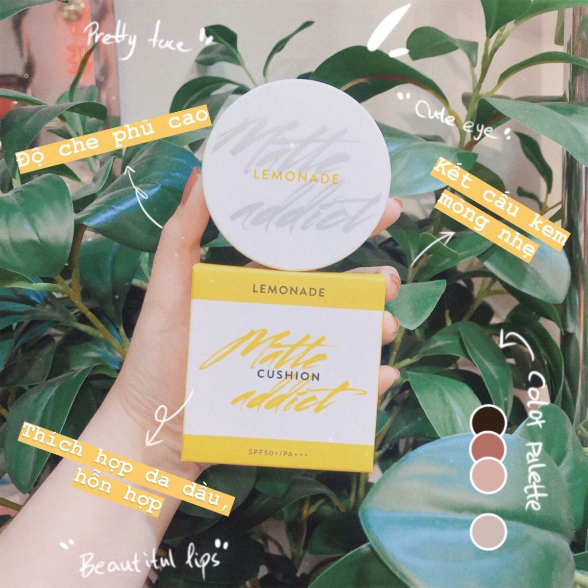 Phấn Nước Lemonade Matte Addict Cushion