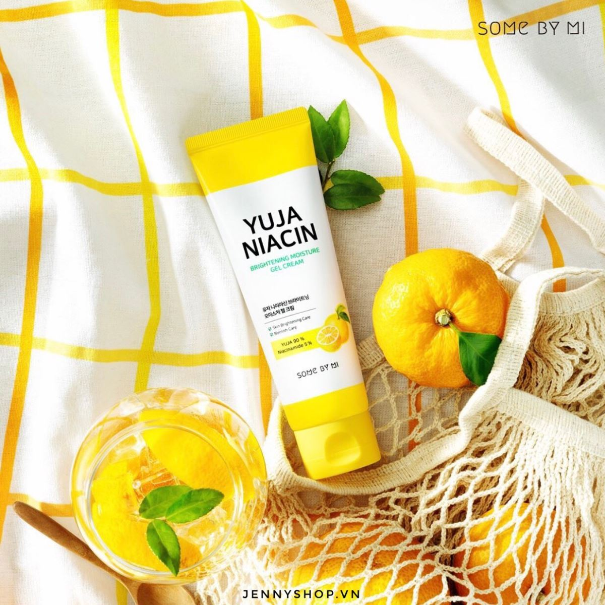 Kem Dưỡng Dạng Gel Some By Mi Yuja Niacin Brightening Moisture Gel Cream