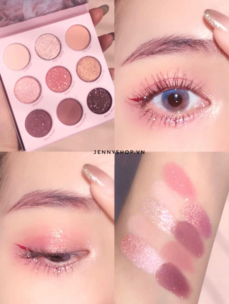 Bảng Phấn Mắt 9 Ô Colourpop Blush Crush Eyeshadow Palette