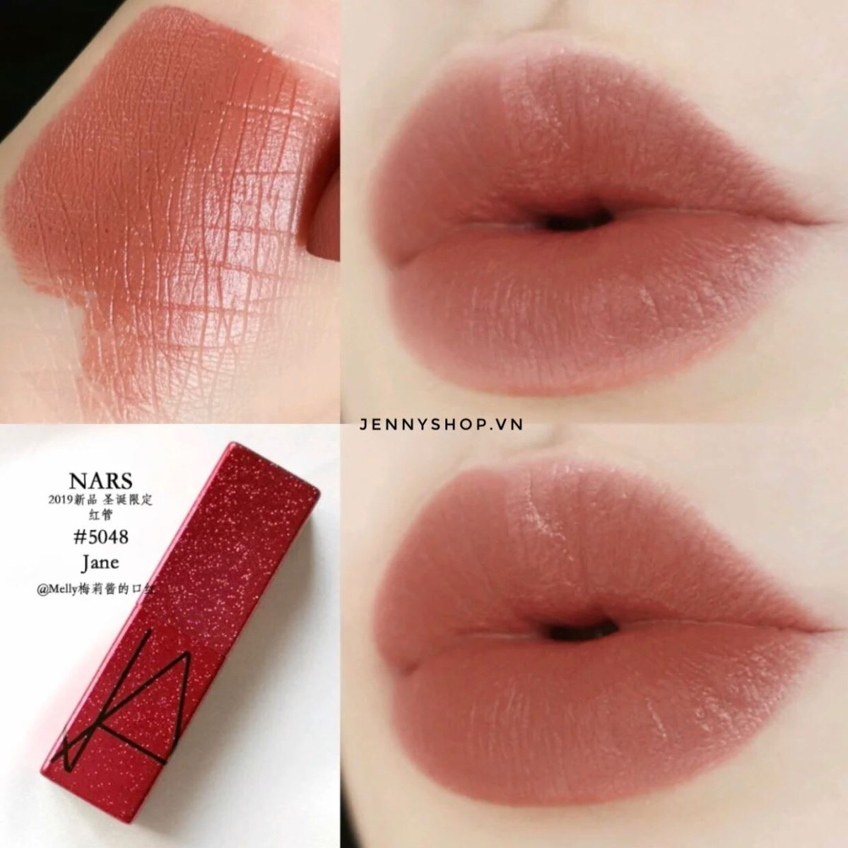 Son Thỏi Nars Audacious Lipstick Limited