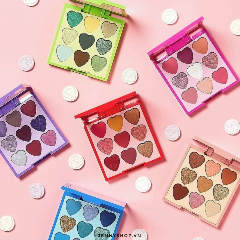 Bảng Phấn Mắt 9 Ô Revolution Heart Breakers Shadow