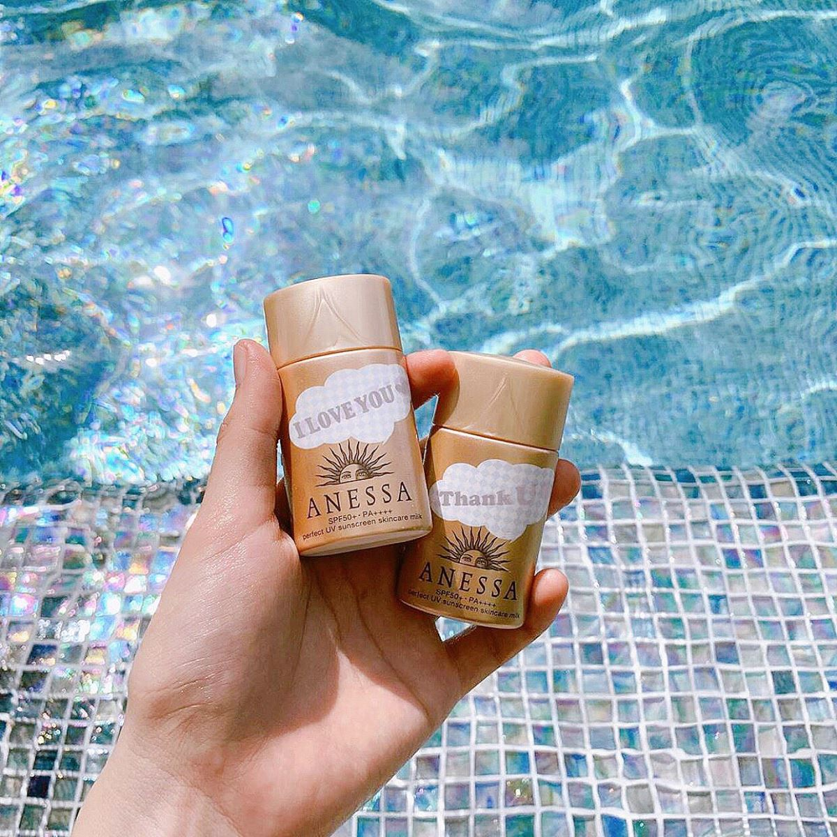 Kem Chống Nắng Anessa Perfect UV Sunscreen Skincare Milk SPF50+ PA++++ 20ml