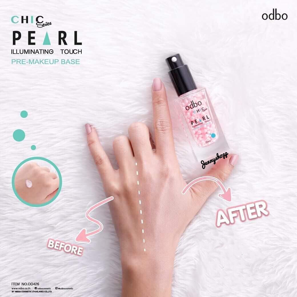 Kem Lót Ngọc Trai Odbo Chic Series Pearl Illuminating Touch Pre-Makeup Base