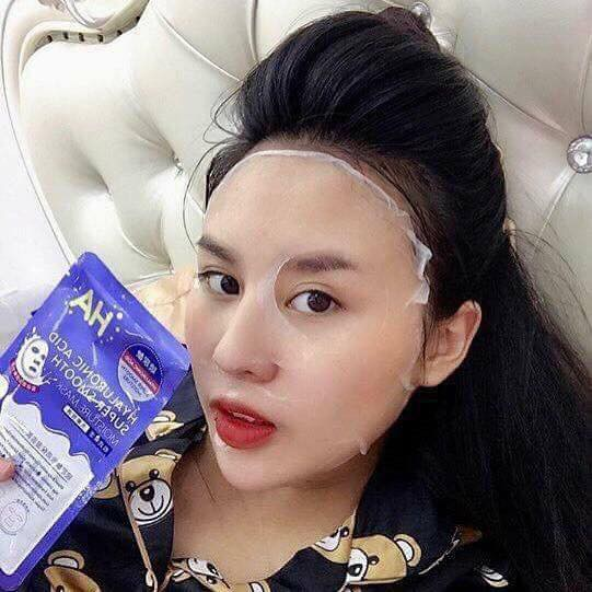 Mặt Nạ Maycreate HA Hyaluronic Acid Super Smooth