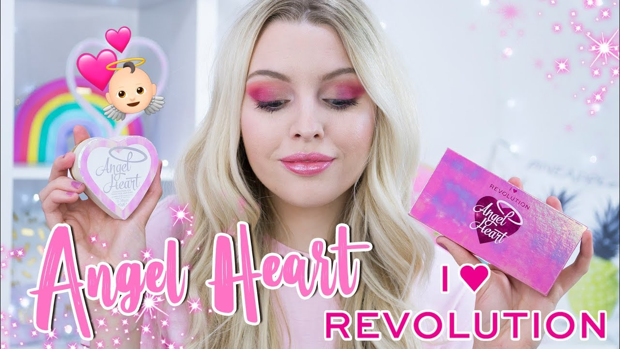 Phấn Bắt Sáng Revolution Angel Heart Highlighter