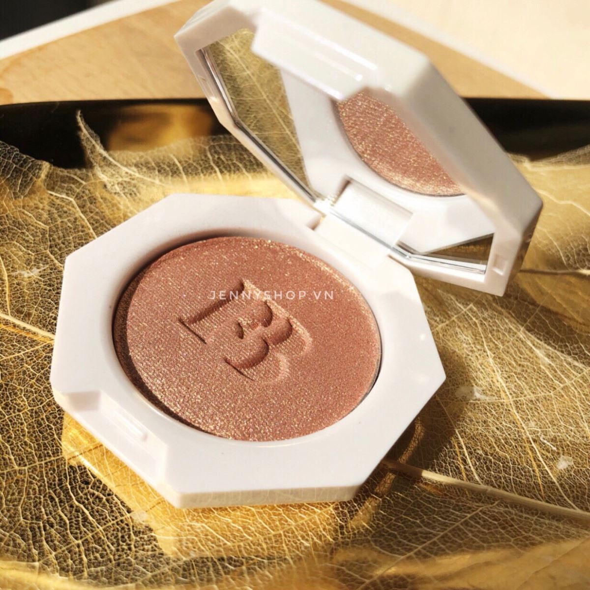 Set Son Bóng Highlight Mini Fenty Beauty Bomb Baby Mini Lip And Face Set