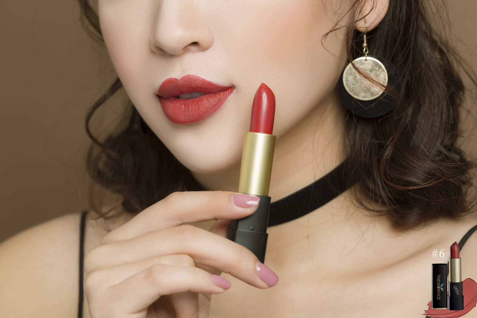 Son Thỏi Lì The Skin Face Bote Lipstick 2018 Romantic Series